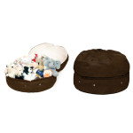 MIMISH MICRO-SUEDE STORAGE BEANBAG CHAIR