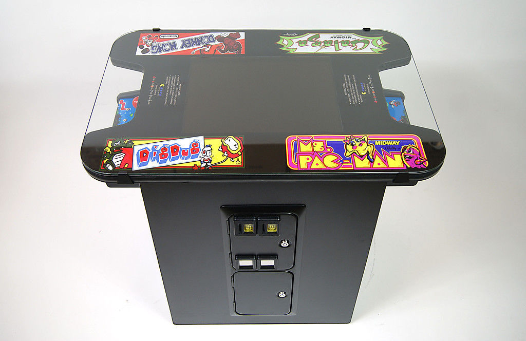 Classic Video Game Cocktail Table Arcade Christmas
