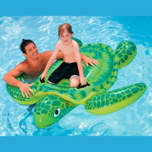 LARGE INFLATABLE TURTLE BOAT