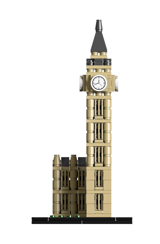 LEGO ARCHITECTURE LONDON BIG BEN 3