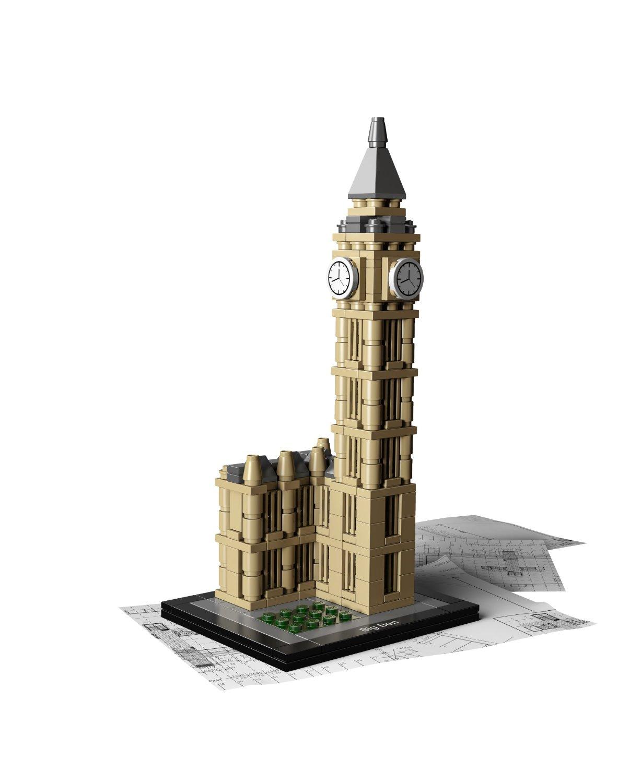 LEGO ARCHITECTURE LONDON BIG BEN 4