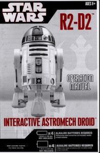 R2-D2 INTERACTIVE ASTRODOME DROID INSTRUCTION MANUAL