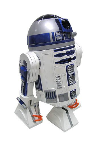 Star wars mini r2 d2 interactive astrodome droid - Robot blanc star wars ...