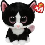 TY BEANIE BOO PEPPER CAT