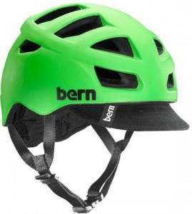 BERN ALL SEASONS BIKE HELMET BRIGHT GREEN SAFETY
