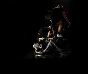CYCLEOPS JET FLUID PRO INDOOR BICYCLE TRAINER WITH BIKE