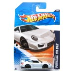 HOT WHEELS WHITE PORSCHE 911