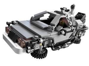 LEGO BACK TO THE FUTURE DELOREAN 2
