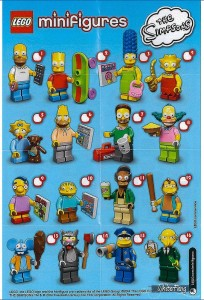 ONE RANDON SIMPSONS LEGO MINIFIGURE 2