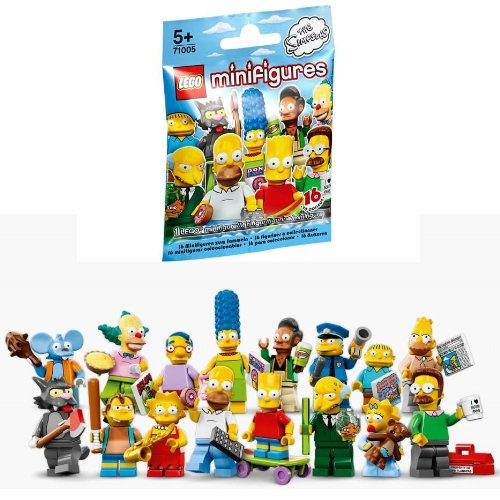 ONE RANDON SIMPSONS LEGO MINIFIGURE