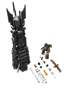 THE LORD OF THE RINGS LEGO 10237 THE TOWER OF ORTHANC 2