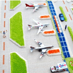TOY CAR CITY ROAD PLAY RUG