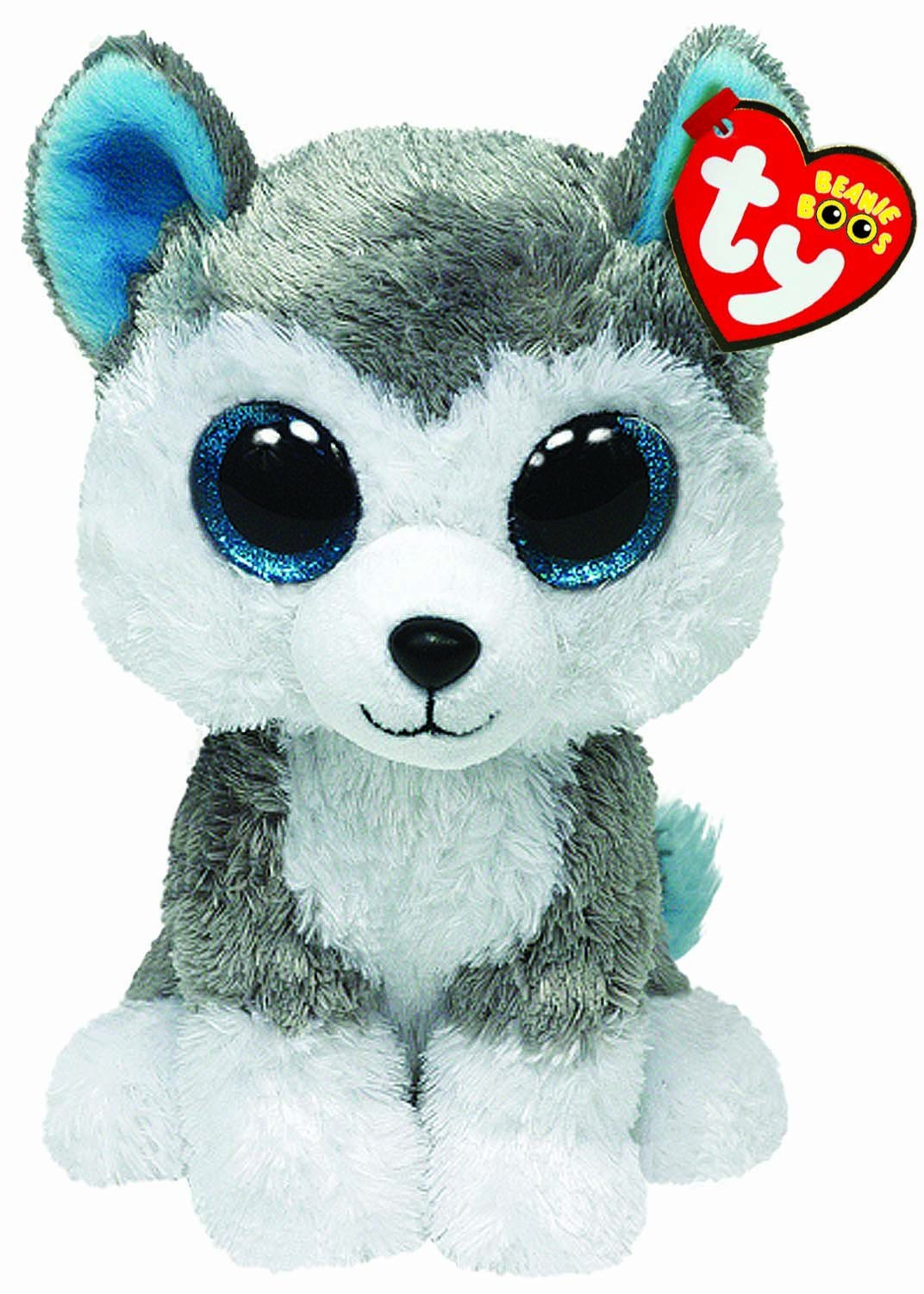 5e12a3569cb TY BEANIE BOOS SLUSH THE HUSKY - Christmas Wishes Gifts