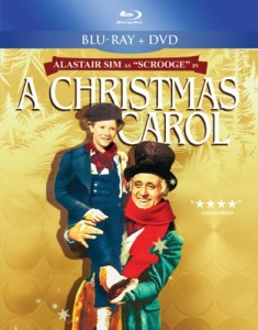 SCROOGE / A CHRISTMAS CAROL (2012 RESTORED BLACK AND WHITE VERSION)  BLUERAY