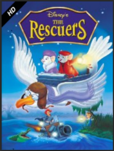 DISNEY'S THE RESCUERS INSTANT DOWNLOAD
