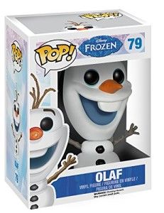 FROZEN OLAF SNOWMAN ACTION FIGURE IN BOX