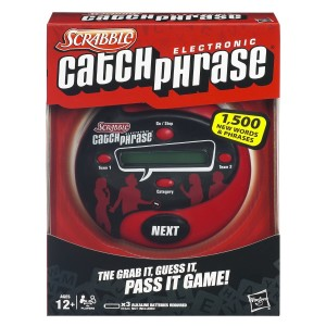SCRABBLE CATCHPHRASE ELECTRONIC GAME