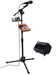 singtrix device and microphone