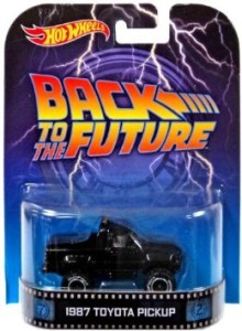 Back to the Future Marty's 1987 Toyota Pickup Hotwheels