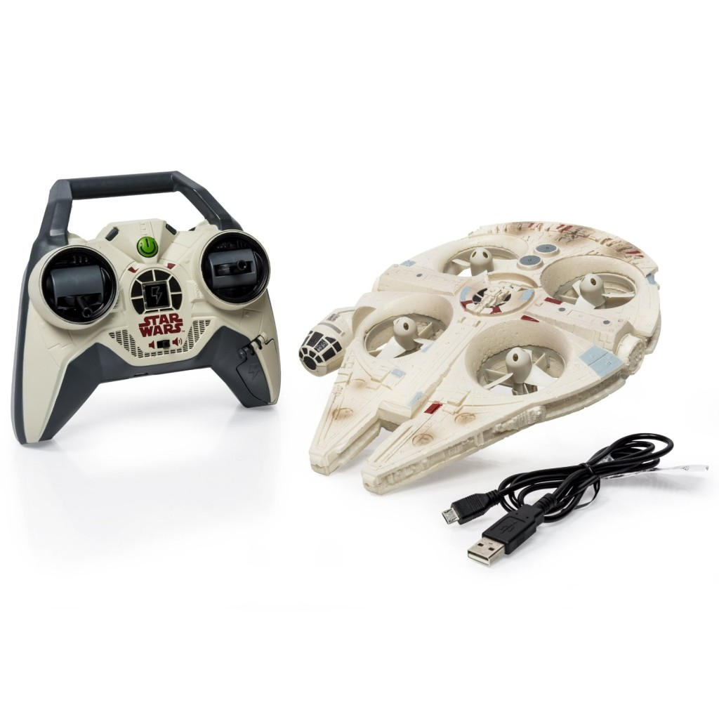 STAR WARS Millenium Falcon RC QUADCOPTER by Air Hogs