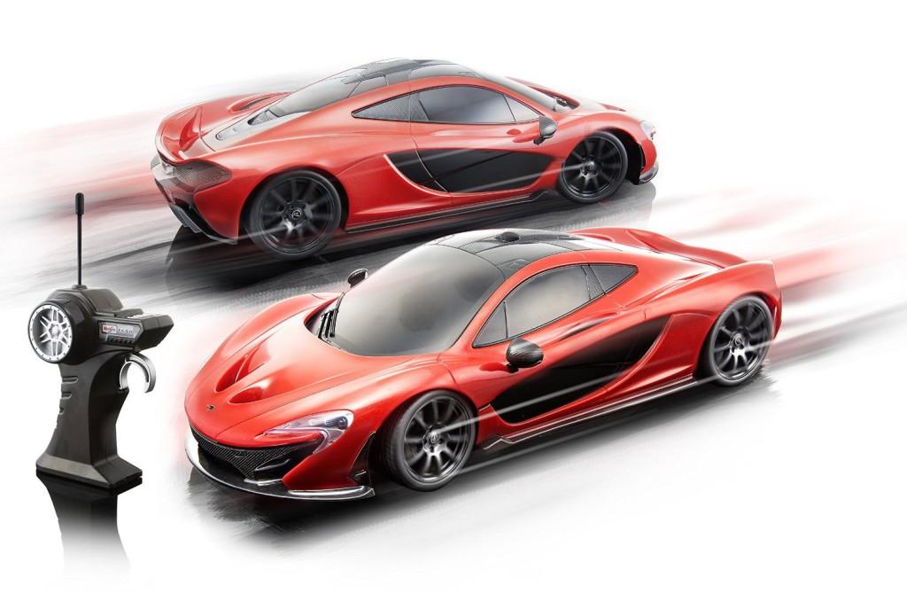 1 14 Scale Red McLaren P1 Radio Control Vehicle