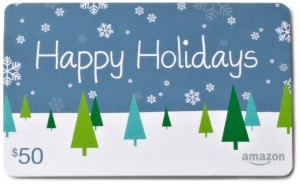 Amazon Gift Card Snowflake Card