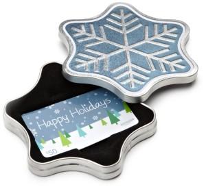 Amazon Gift Card inSnowflake Box