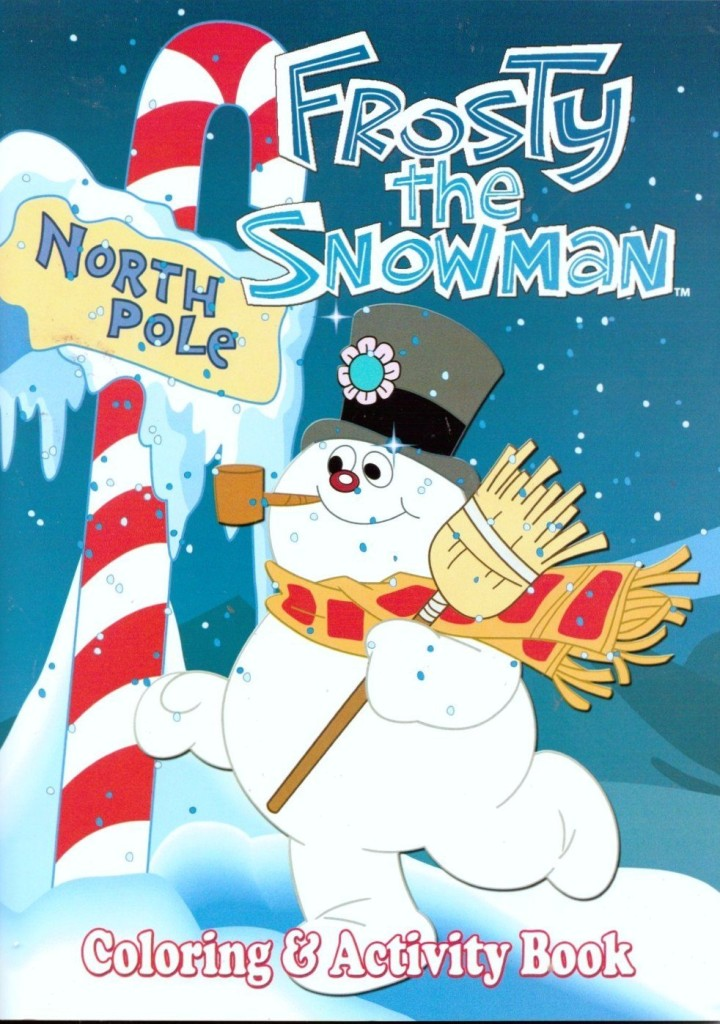 Frosty the Snowman Coloring and Activity Book