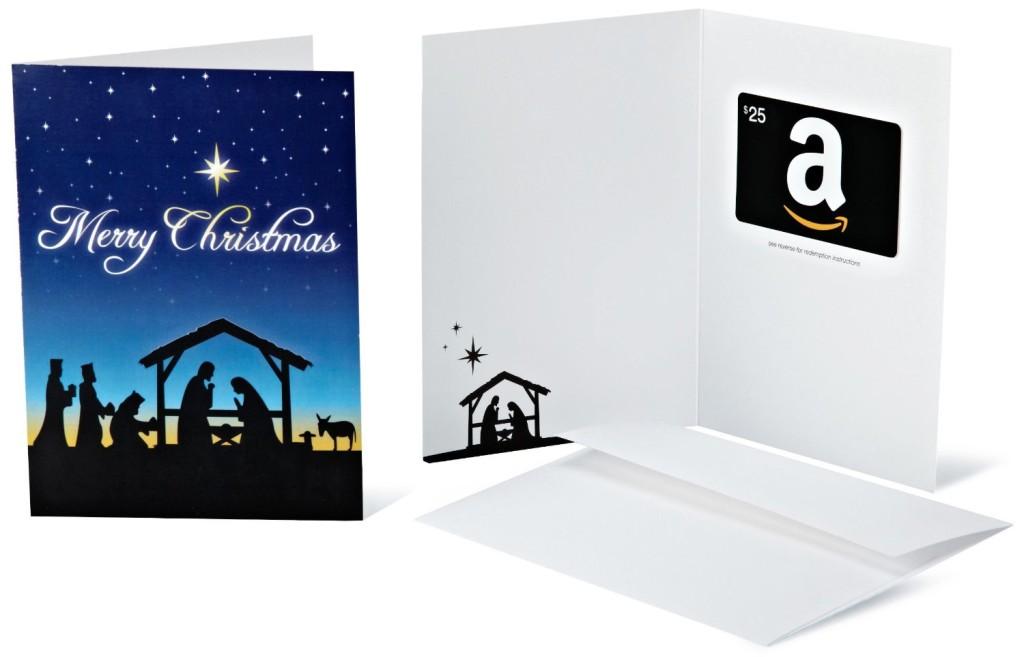 Merry Christmas Nativity Card Amazon