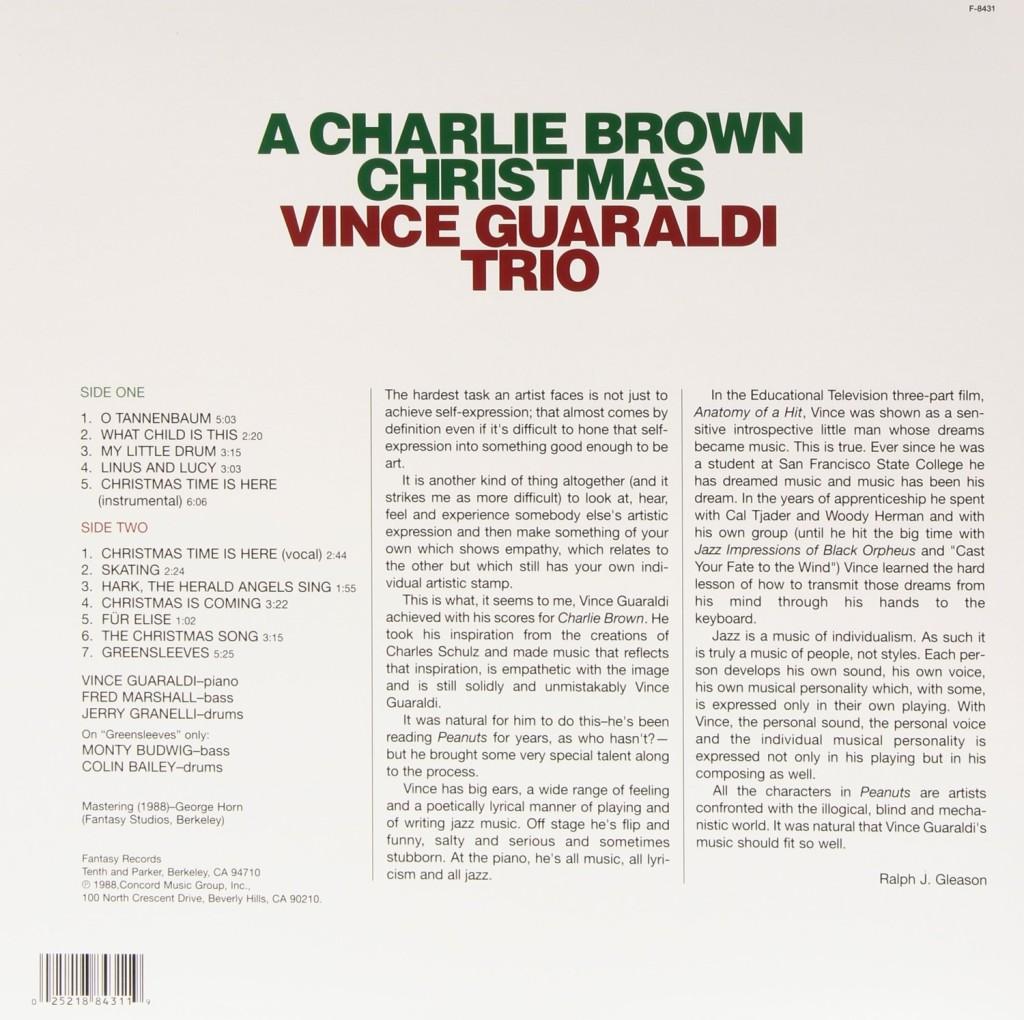 Charlie Brown Christmas Vinyl