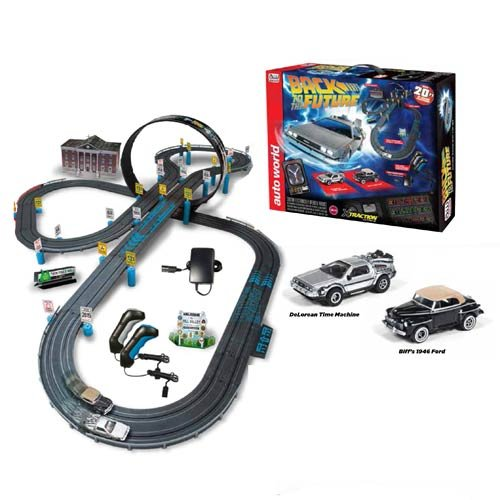 Back to the Future Electric Slot Car Race Set - Christmas Wishes Gifts 8d6676d34f16