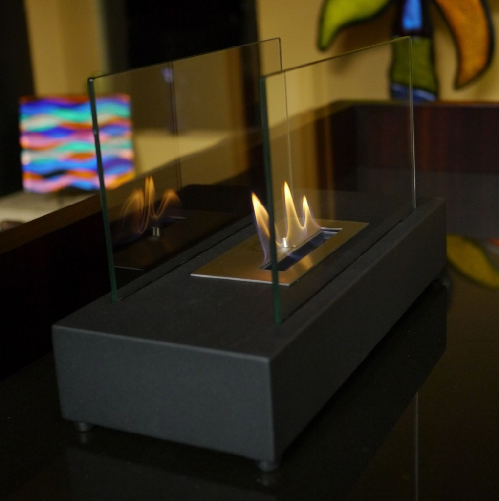 nu flame incendio tabletop portable ethanol fireplace christmas