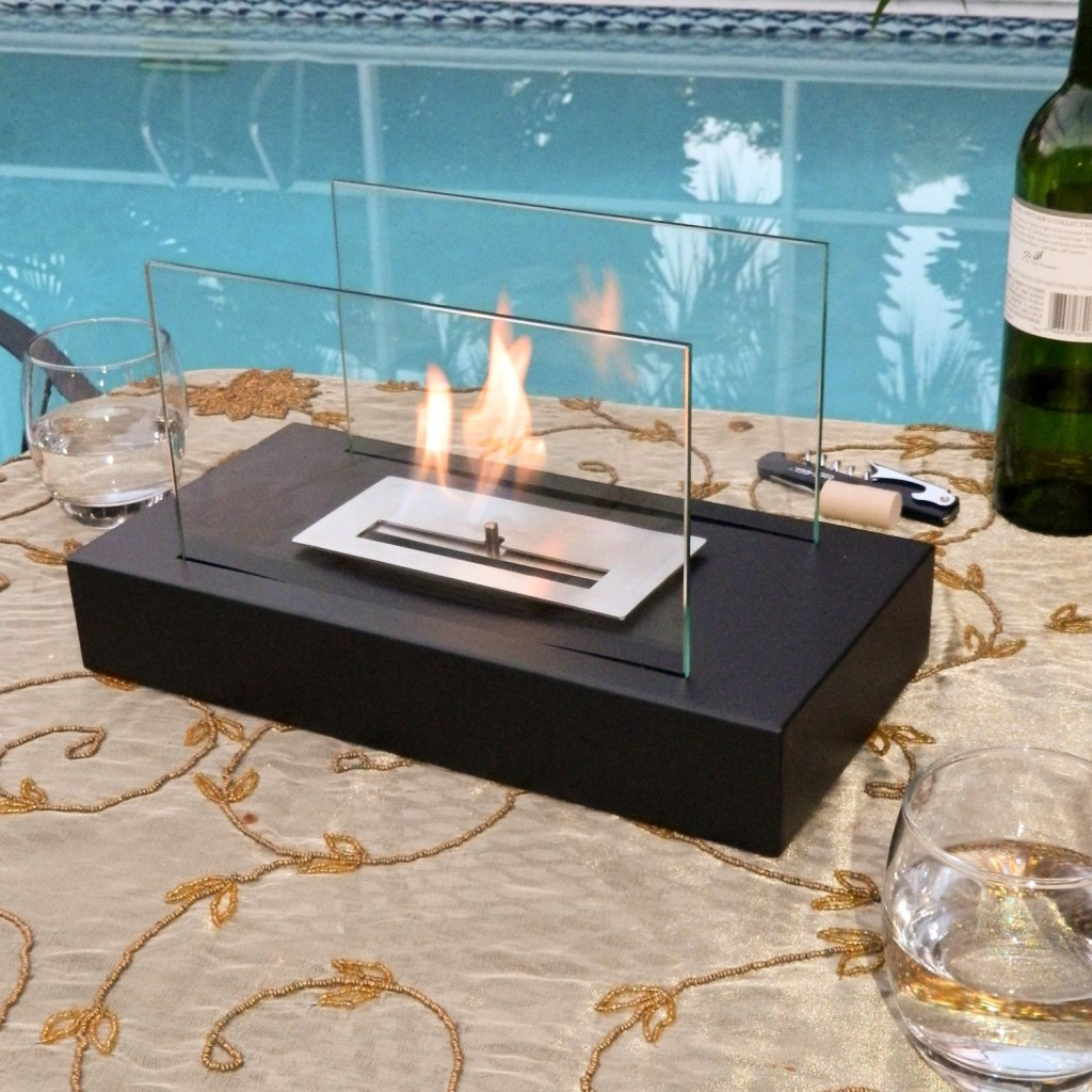 Nu-Flame Incendio Tabletop Fireplace Poolside