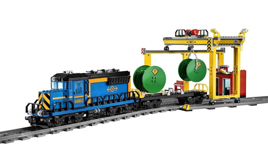 LEGO City Trains Cargo Train 60052 detail 3