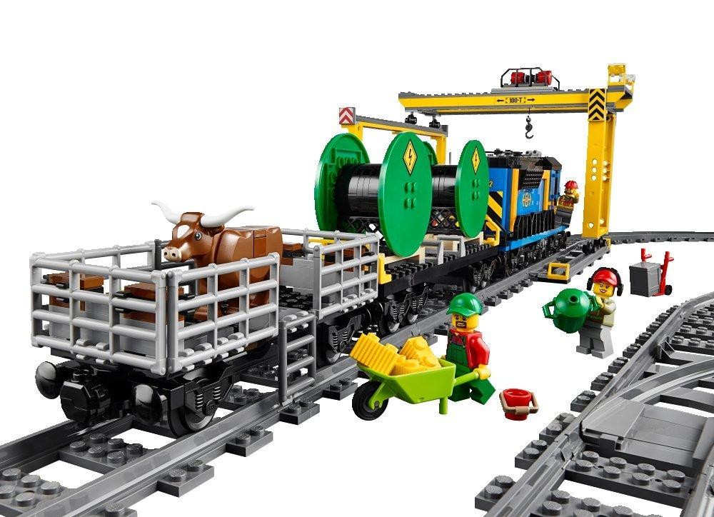 LEGO City Trains Cargo Train 60052 detail