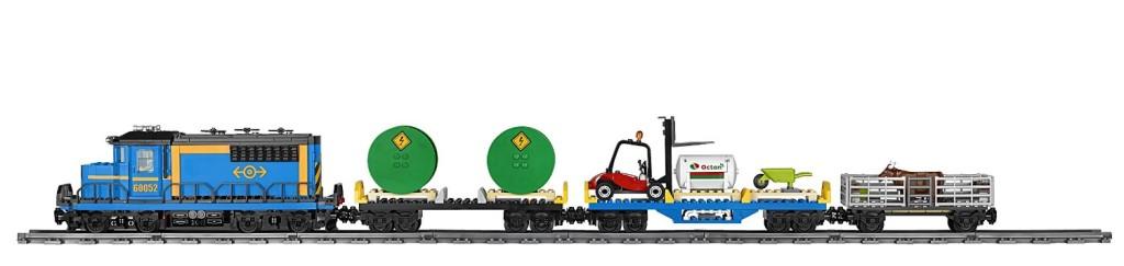LEGO City Trains Cargo Train 60052 profile
