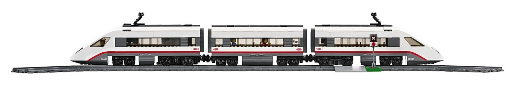 LEGO City Trains High-speed Passenger Train 60051 Building Toy profile