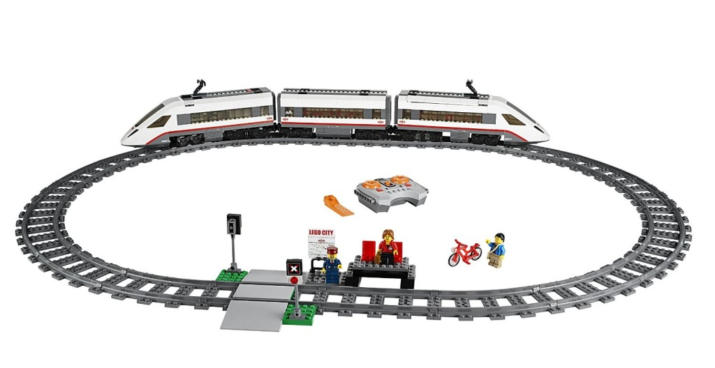 LEGO City Trains High-speed Passenger Train 60051 Building Toy1