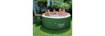 COLEMAN Lay-Z-Spa INFLATABLE SUMMER HOT TUB