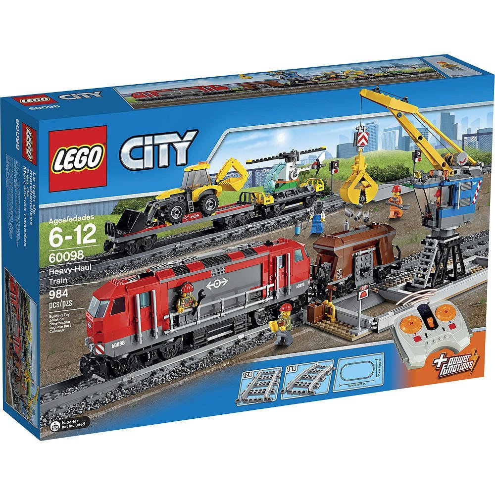 Lego City Heavy-haul Train 60098 Box
