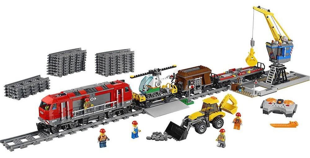 Lego City Heavy-haul Train 60098 Set