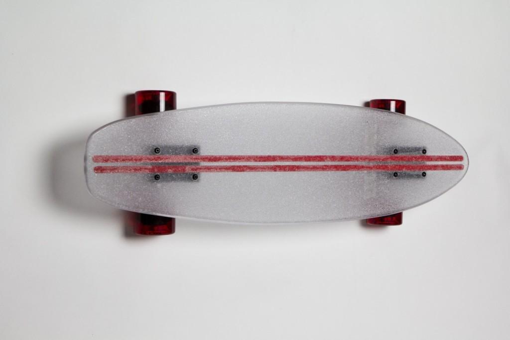 Light UpTransparent Skate Board day