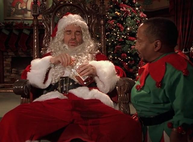 bad santa boozed