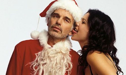 bad santa licked