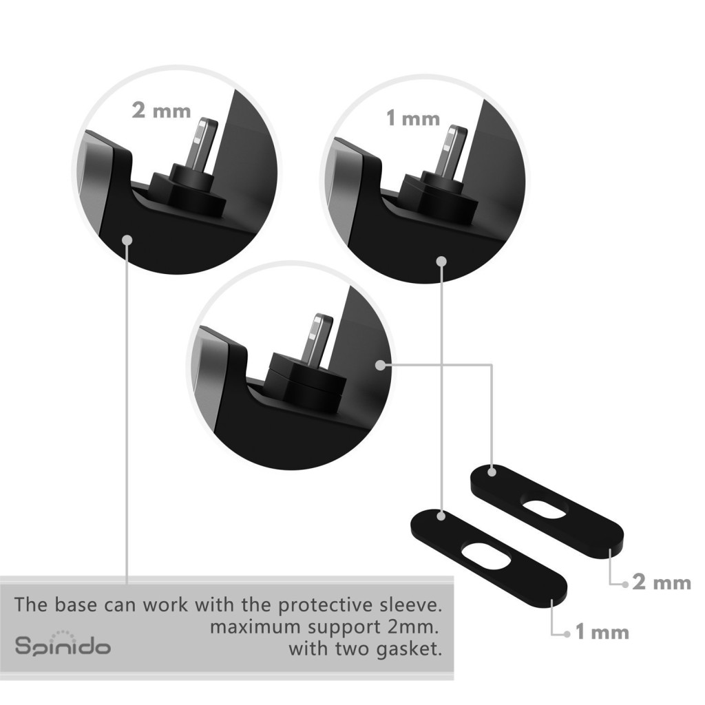 spinido iphone dock GASKETS