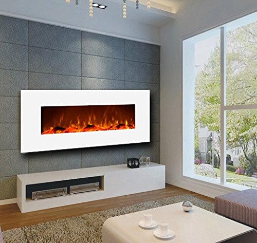 touchstone-ivory-low-profile-electric-fireplace