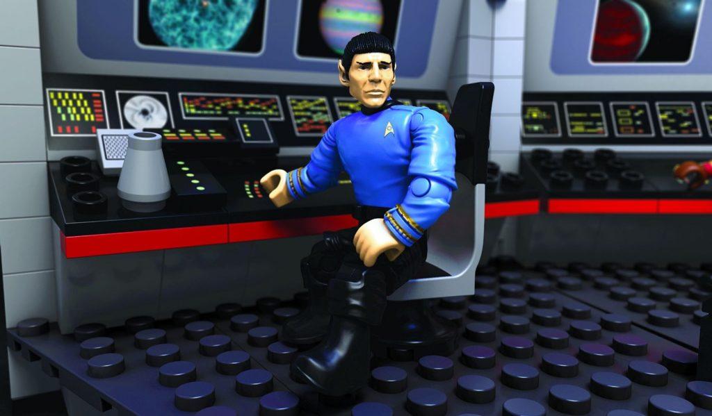 mega-bloks-star-trek-u-s-s-enterprise-bridge-collector-construction-set-spock