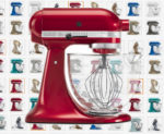 KitchenAid Artisan Stand Mixer with GLASS BOWL