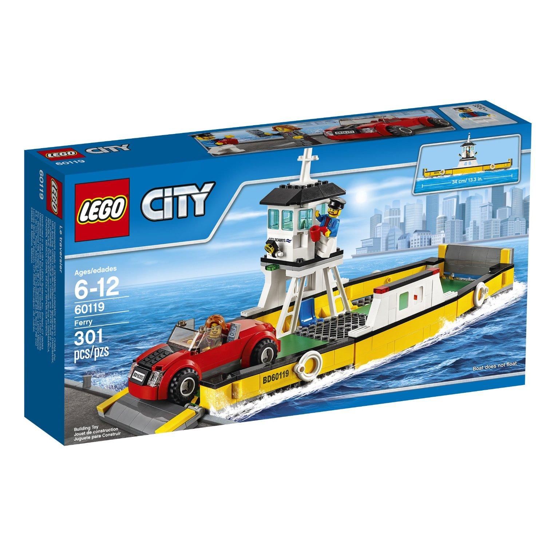 the lego city ferry